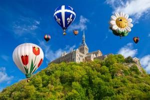城とballoonの写真