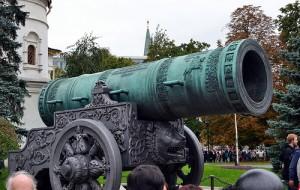 大砲を横から見た映像