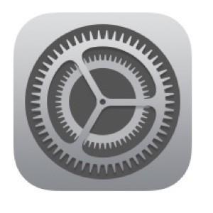 iPhoneの設定のアイコン