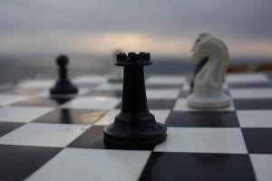 チェスの黒のルーク