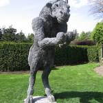 針金で作ったミノタウロスの像