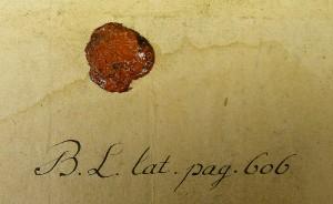 シーリングスタンプで封印された手紙
