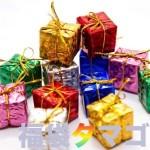 プレゼントの箱がたくさん